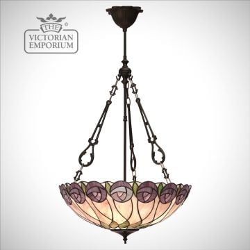 Hutchinson large inverted 3lt pendant
