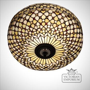 Mille feux flush mount light