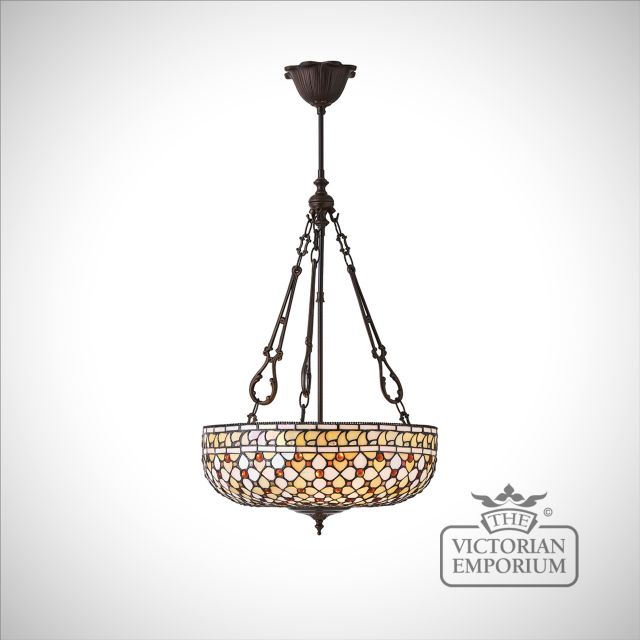 Mille feux large inverted 3lt pendant