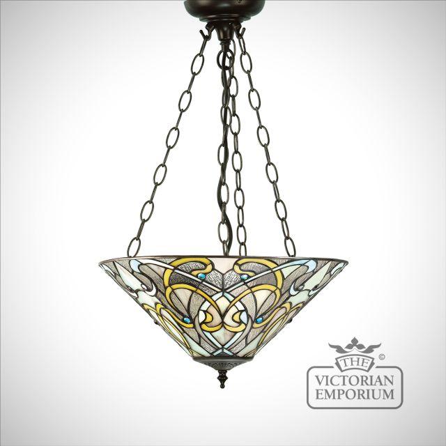 Dauphine medium inverted 3lt pendant