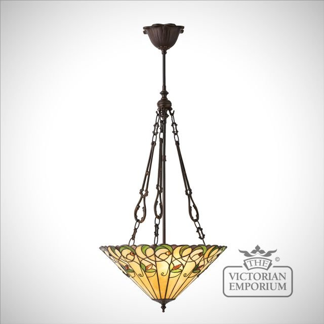 Jamelia medium inverted 3lt pendant