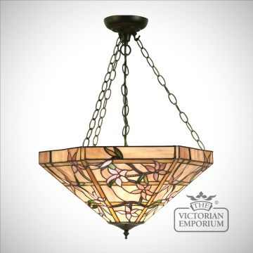 Clematis large inverted 3lt pendant