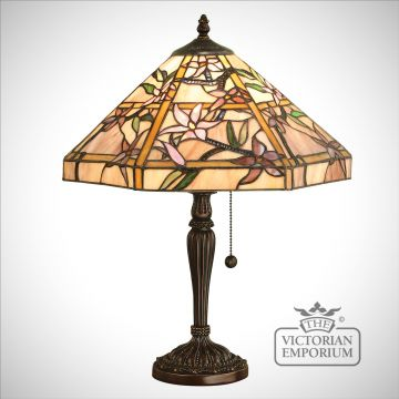 Clematis medium table lamp