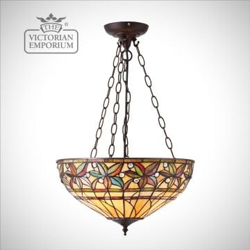 Ashtead inverted pendant in medium or large