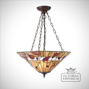 Bernwood large inverted 3lt pendant