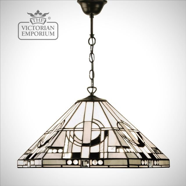 Metropolitan pendant in bronze or aluminium and medium or large