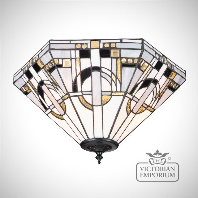 Metropolitan 2lt flush mount light