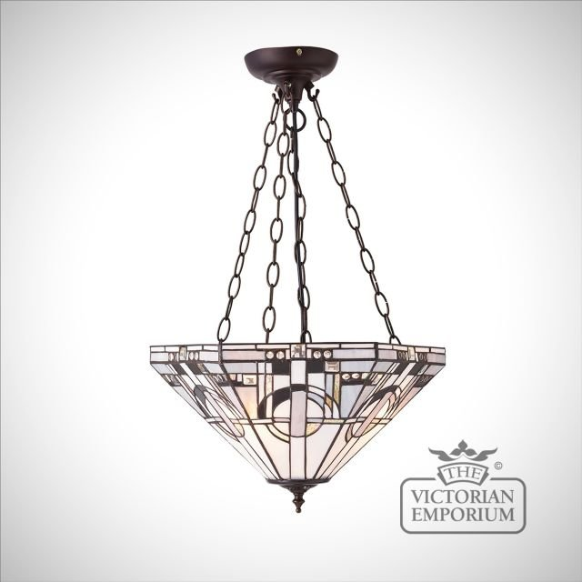 Metropolitan medium inverted 3lt pendant