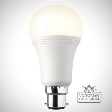 B22 LED GLS dimmable 10W warm white