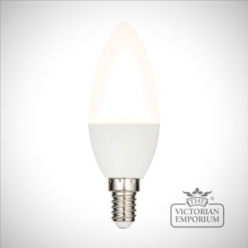 E14 LED candle dimmable 4.5W warm white