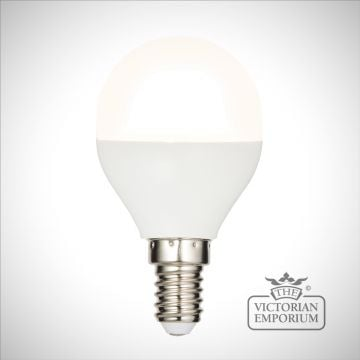 E14 LED golf dimmable 4.5W warm white