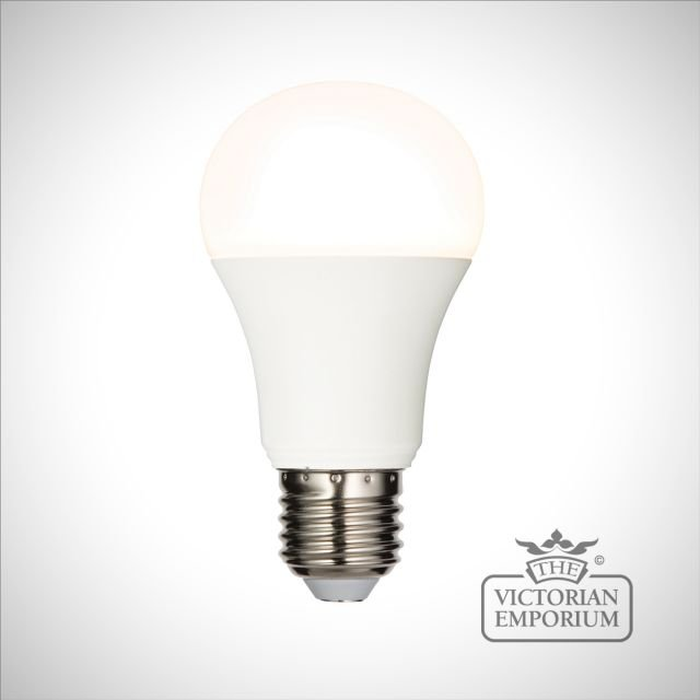E27 LED GLS dimmable 10W warm white