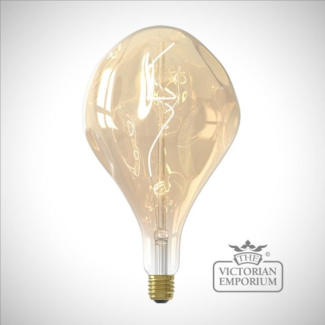Large LED Organic Gold Filament bulb Dimmable E27 6W