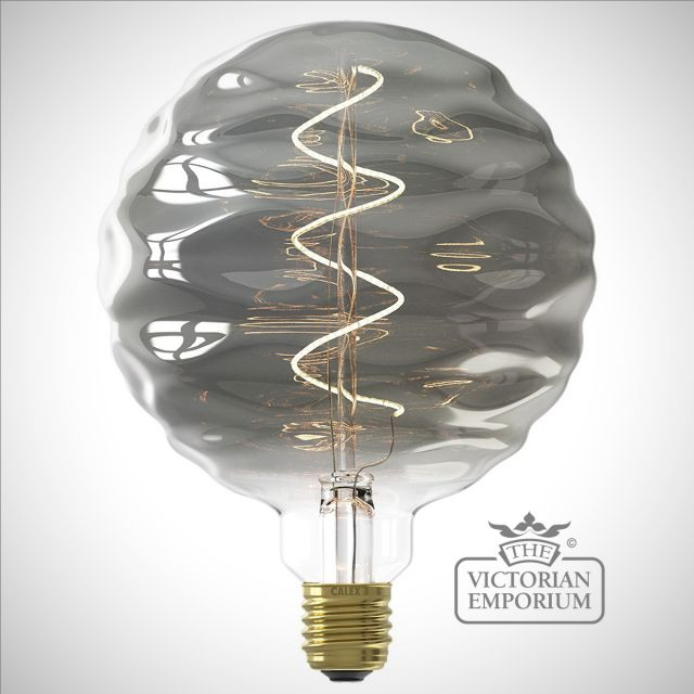 LED Titanium Ripple effect bulb E27 4W