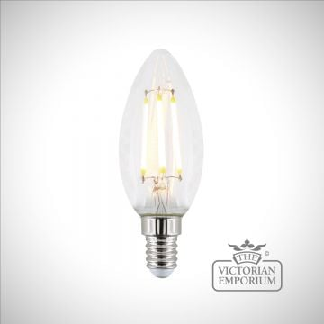 E14 4.8W LED Dimmable candle bulb