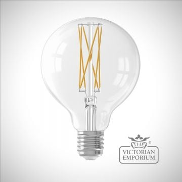 LED XL Round filament bulb - dimmable E27 4W