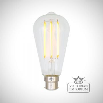 B22 4W LED Teardrop Dimmable Filament Bulb