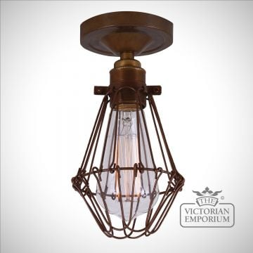 Epoch Flush Cage Ceiling Light