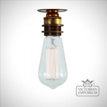 Bangul Semi Flush Batten Ceiling Light