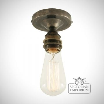 Baxter Flush Ceiling light in a choice of finishes