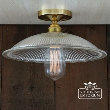 Calixe Flush Ceiling light in a choice of finishes
