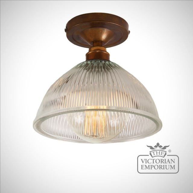 Erbil Prismatics Flush Ceiling light in a choice of finishes