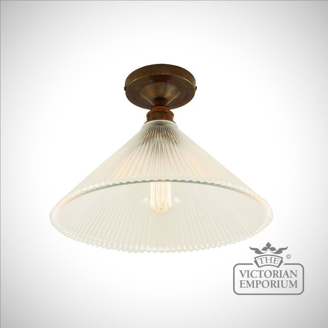 Hanoi Flush Ceiling light in a choice of finishes