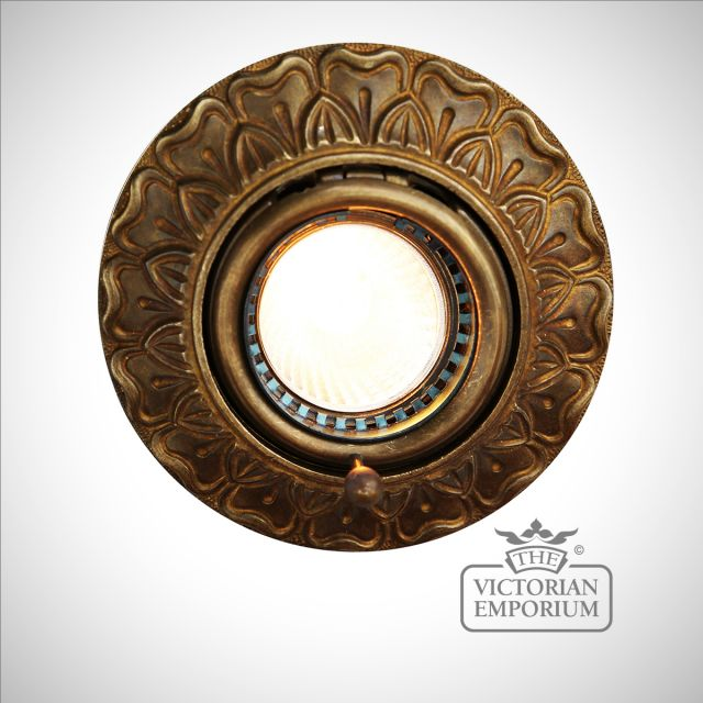 Decorative Recessed Spotlight in a choice of finishes