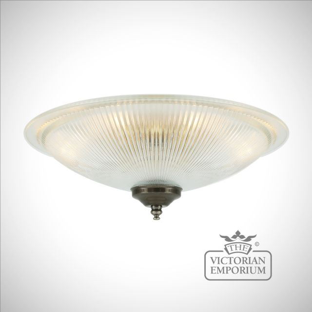 Nicosia Shallow Ceiling Light in a choice of finishes