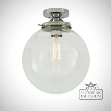 Riad Globe Ceiling Light in a choice of colours and sizes