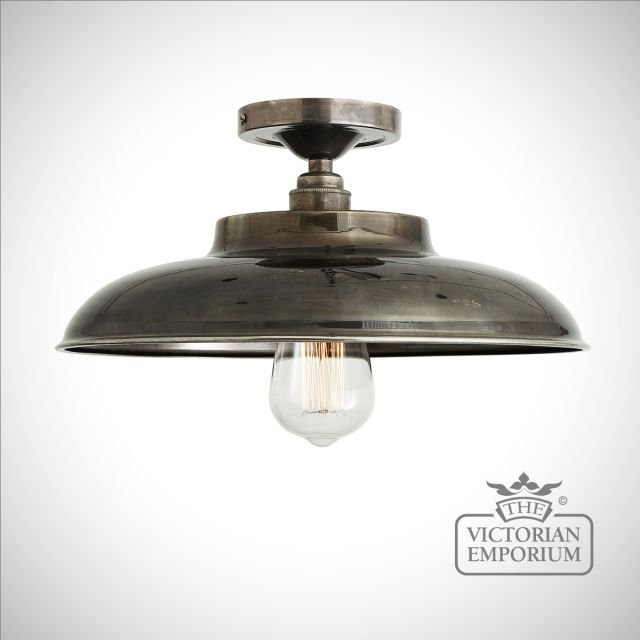 Tela Flush Ceiling Light in a choice of finishes