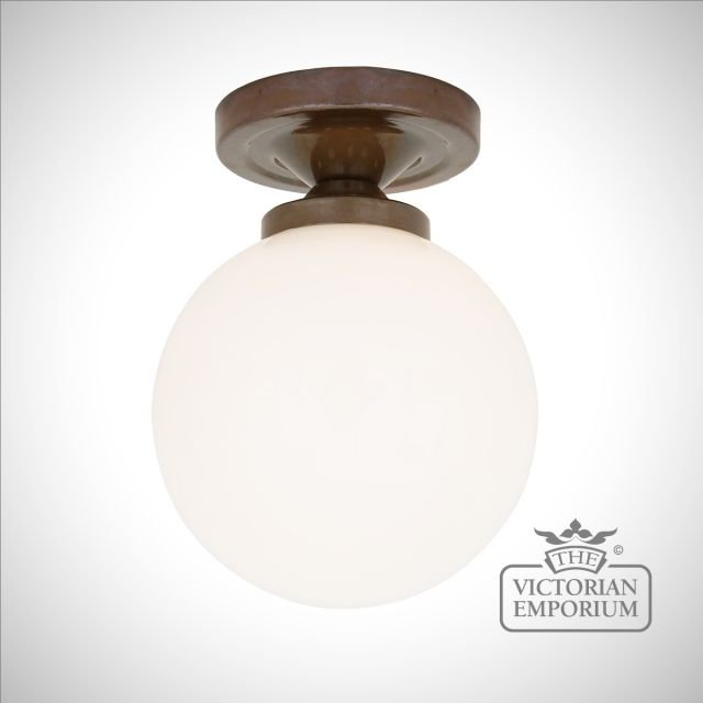 Younde Flush Ceiling Light in a choice of finishes