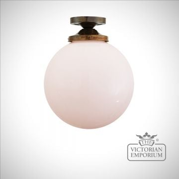 Plain Globe Ceiling Light in a choice of colours and sizes