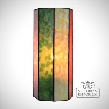 Hand Made Harlequin Opal coloured Wall Light