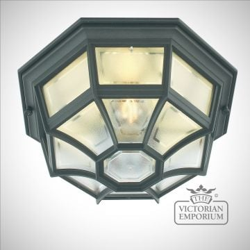 Latin flush mount ceiling light