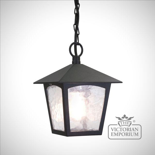 York 1 Light Porch Chain Lantern