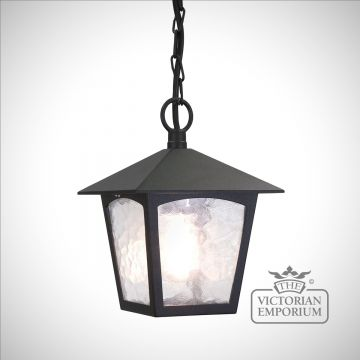 York 1 Light Porch Chain Lantern