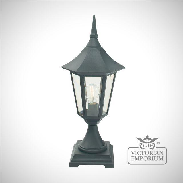Valence Pedestal Lantern - large of extra large