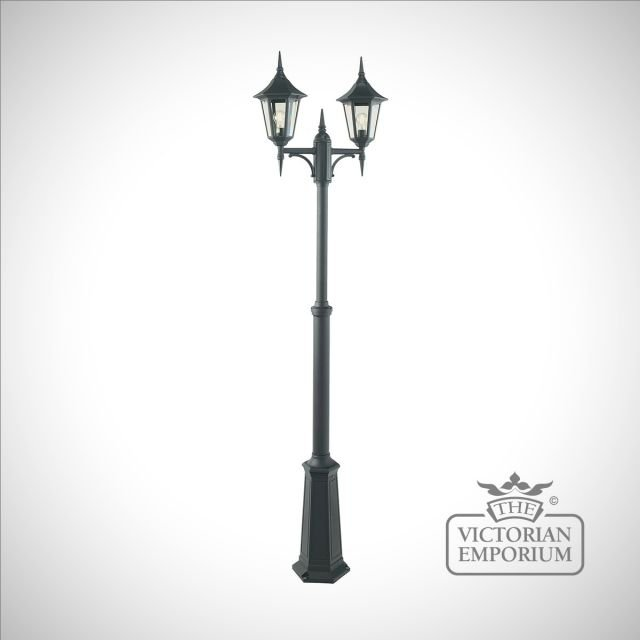 Valence Double Lamp Post - Large or Extra Large