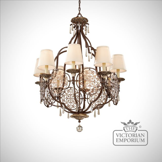 Marcelle 8 Light Chandelier