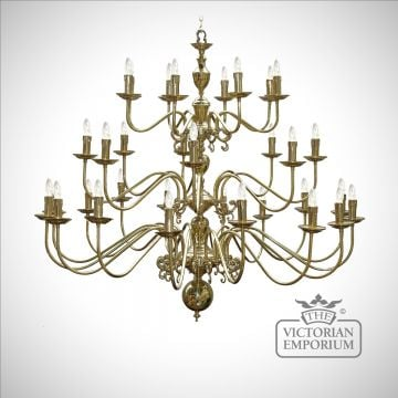 Fleming Grand 32 Arm Chandelier