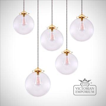 Riad Globe Pendant Cluster Light