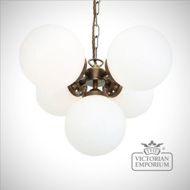 Globe Light Chandelier