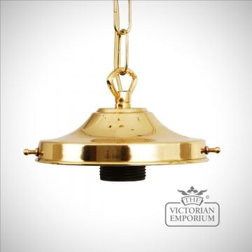 Simple gallery suspension light in a choice of finishes