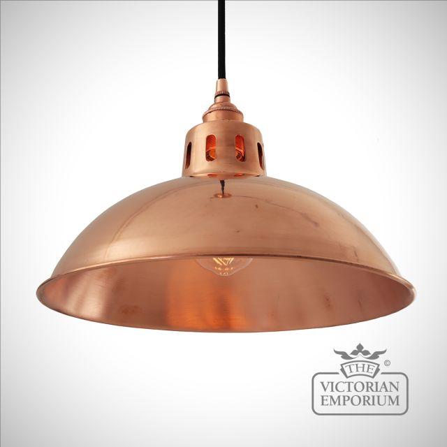 Berlin Pendant Light in Polished Copper