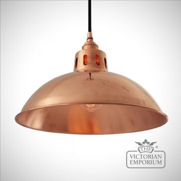 Berlin Pendant Light in Polished Copper
