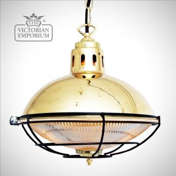 Marlow Cage Light in a choice of finishes