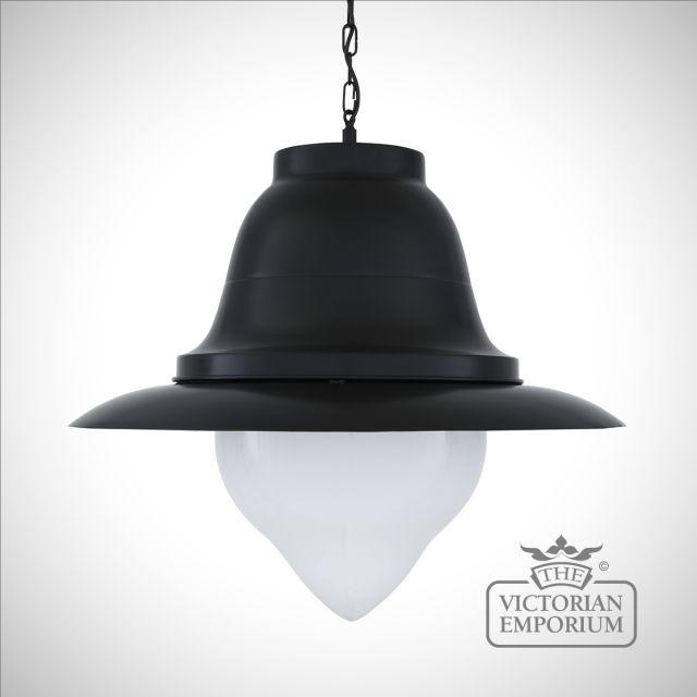 Knightsdale Large Pendant in Black