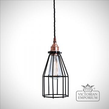 Lima Pendant Light in Polished Copper