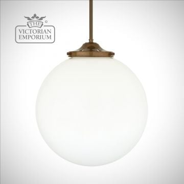 Luan Globe Pendant Light - choice of finishes